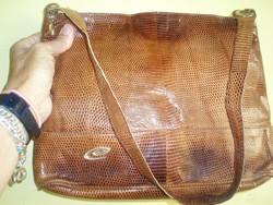 Esteve vintage lizard táska