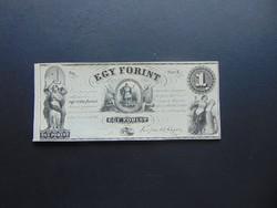 1 forint 1852 E Kossuth bankó Szép bankjegy !