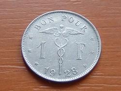 BELGIUM BELGIQUE 1 FRANK 1928 BON POUR #