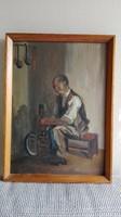 Szüle Péter - eredeti festmény