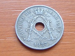 BELGIUM BELGIQUE 10 CENTIMES 1927  #