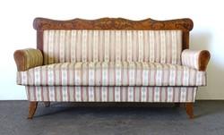 0X931 Antik Biedermeier kanapé 182 cm