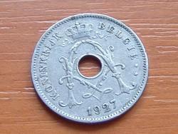 BELGIUM BELGIE 10 CENTIMES 1927   #