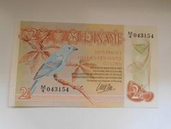 Suriname 2 1/2 gulden 1985 UNC Ritka!