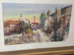 Valter Moretti festménye 1978-ból keretáras aukcióban!