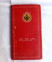 Osztrák képeslap albumban 75 darab osztrák képeslap / Kor: 1900-1920