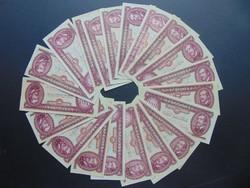 20 darab piros 100 forint LOT !!!