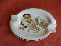 Zsolnay porcelán pillangó mintás hamutál