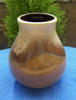 Jelzett német kerámia váza 14 cm (21/d)