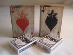Kártya tartó dobozok - Ajándék 2 pakli kártya !