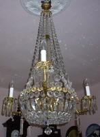 Empire kristály csillár kristálycsillár 100cm