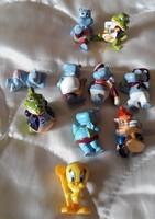 10 db Kinder (1990, 1991,1992 , 1997) figura gyűjtőknek