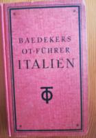 Baedekers OT-Führer ITALIEN - Bibliographisches Institut AG, Liepzig 1944.