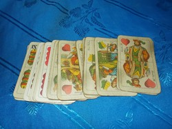 Régi 32 lapos magyar kártya