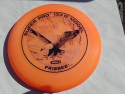Vintage Wham - O   Narancs színű Super PRO 133 G model -  Frisbee