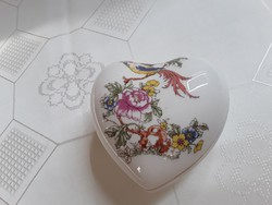 Anita porcelán szív alakú doboz / 2724