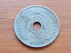 BELGIUM BELGIQUE 25 CENTIMES 1929