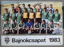 RÁBA ETO BAJNOKCSAPAT 1983