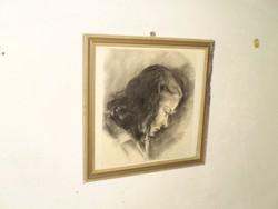 """Mednyánszky László""""Női portré"""""""