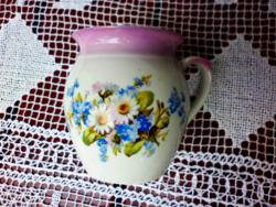 Antik pocakos Zsolnay csésze