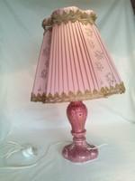 Különleges zsolnay porcelán lámpa