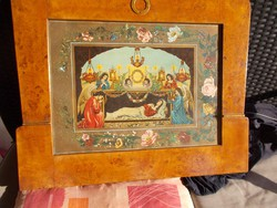 Régi szentkép, 66 x 56 cm