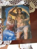 MICHELANGELO ALBUM NÉMET : SZOBOR FESTMÉNY RAJZ ... ledöntve művészi szabadság korlátait.
