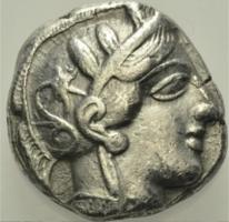 Attika Athén ezüst Tetradrachma