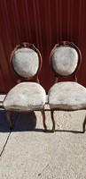 Romos korabeli bieder szék pár....