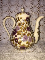 Zsolnay teáskanna antik 19. századi