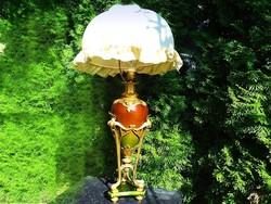 Victorian / Art Deco ritka különleges nagyméretű asztali lámpa