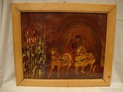 Pankovics Mária festmény