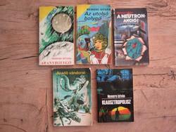 Nemere István sci-fi könyvek 5 db