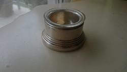 Ezüst fűszertartó eredeti üvegbetéttel