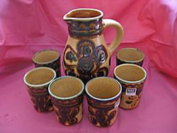 Retro BAY fat lava Keramik boros készlet