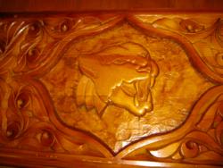 Backgammon Faragott fa  ostábla jaguár