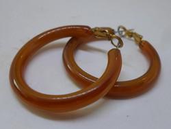Antik bakelit? karika fülbevaló és gyűrű