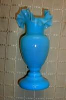 Kalcedon szecessziós üveg váza