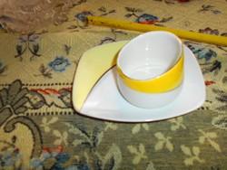 2 db art deco Hollóházi porcelán együtt