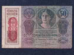 Osztrák-Magyar (1912-1915 sorozat) 50 Korona bankjegy 1914 / id 10486/