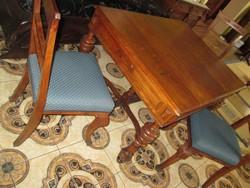 Ónémet  asztal  hat  székkel