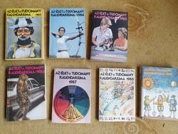 Az Élet és Tudomány Kalendáriuma 198-1989