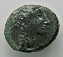 """Seleukid Királyság, Antiochus III Megas 223-187BC """"Apollo"""" Ókori görög érme"""
