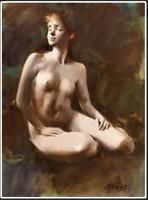 Gyémánt László (1935- ) -  Fiatal lány aktja