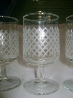 Hat darabos talpas pohár készlet