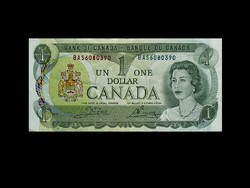 UNC - 1 DOLLÁR - KANADA - 1973 (Old Money)