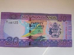 Salamon szigetek 20 dollár 2017 UNC