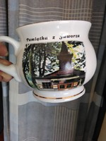 Lengyel Jamax porcelán nagy bögre