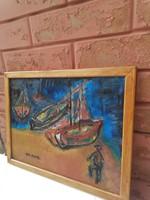 Aba-Novák jelzett festmény