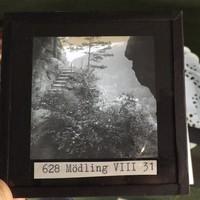 Üveg fotó negatív  szép állapot